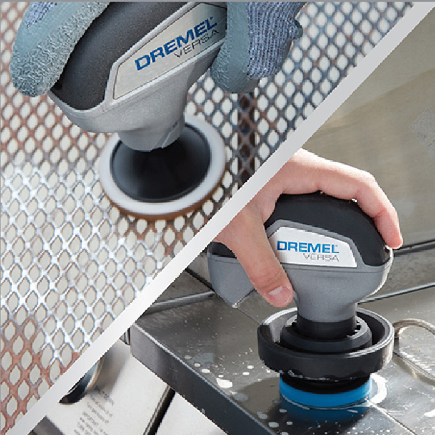 Image of cleaning patio table and grill