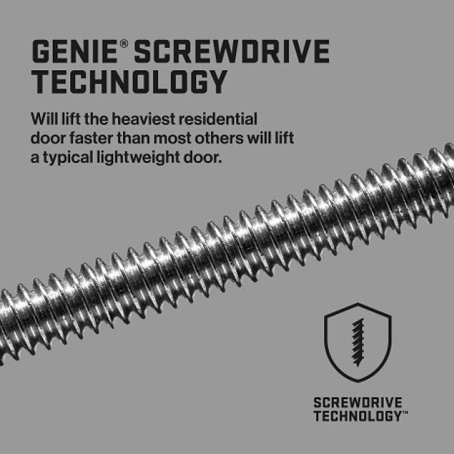 Genie MachForce Screw Drive Garage Door Opener
