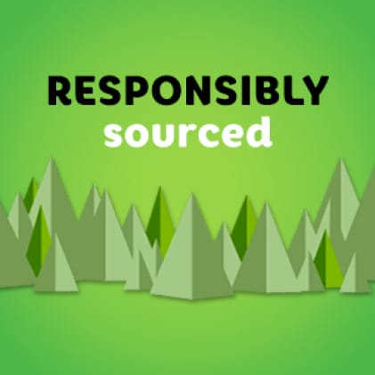 Bounty Paper Towels are responsibly sourced. For every tree we use, at least one is regrown.