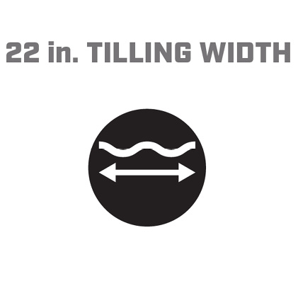Icon image of 22 inch tilling width