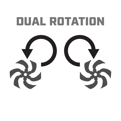 Icon image of dual direction tines