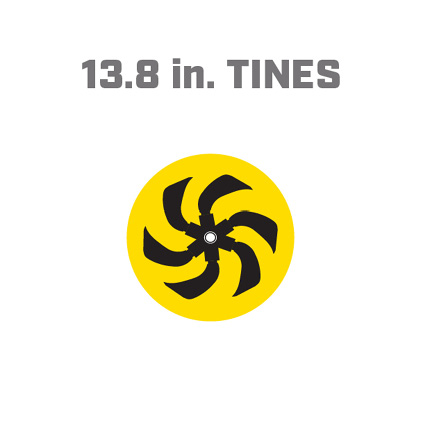 Icon image of 13.8 inch tines