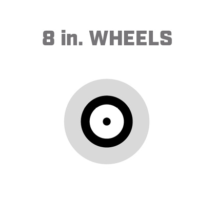 Icon image of 8 inch wheels