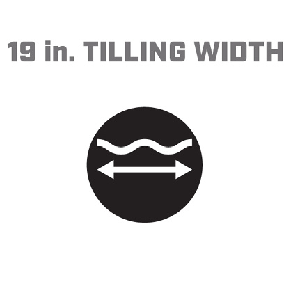 Icon image of 19 inch tilling width