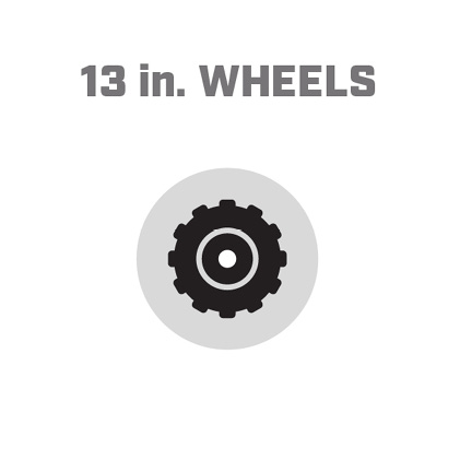 Icon image of 13 inch wheels