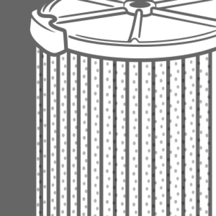 Filter is made with HEPA Rated Media