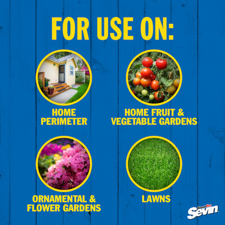 Sevin Insect Killer Lawn Granules usage