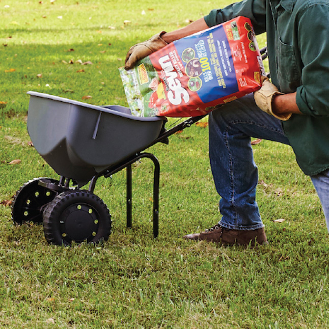 Sevin Insect Killer Lawn Granules step 2 application