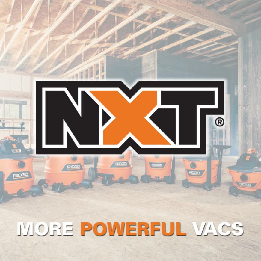 NXT Wet/Dry Vacs