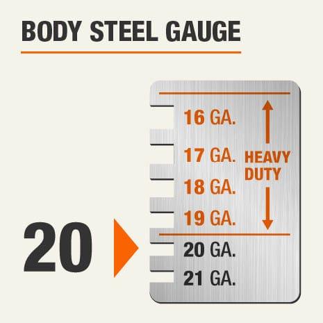 Body Steel Gauge of 20
