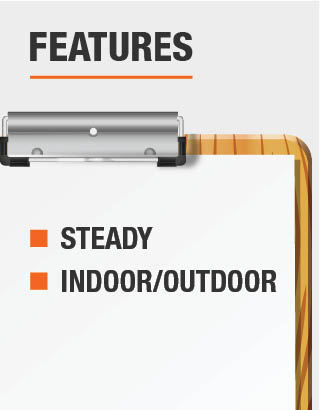 This light is steady and is recommended for use indoor and outdoor