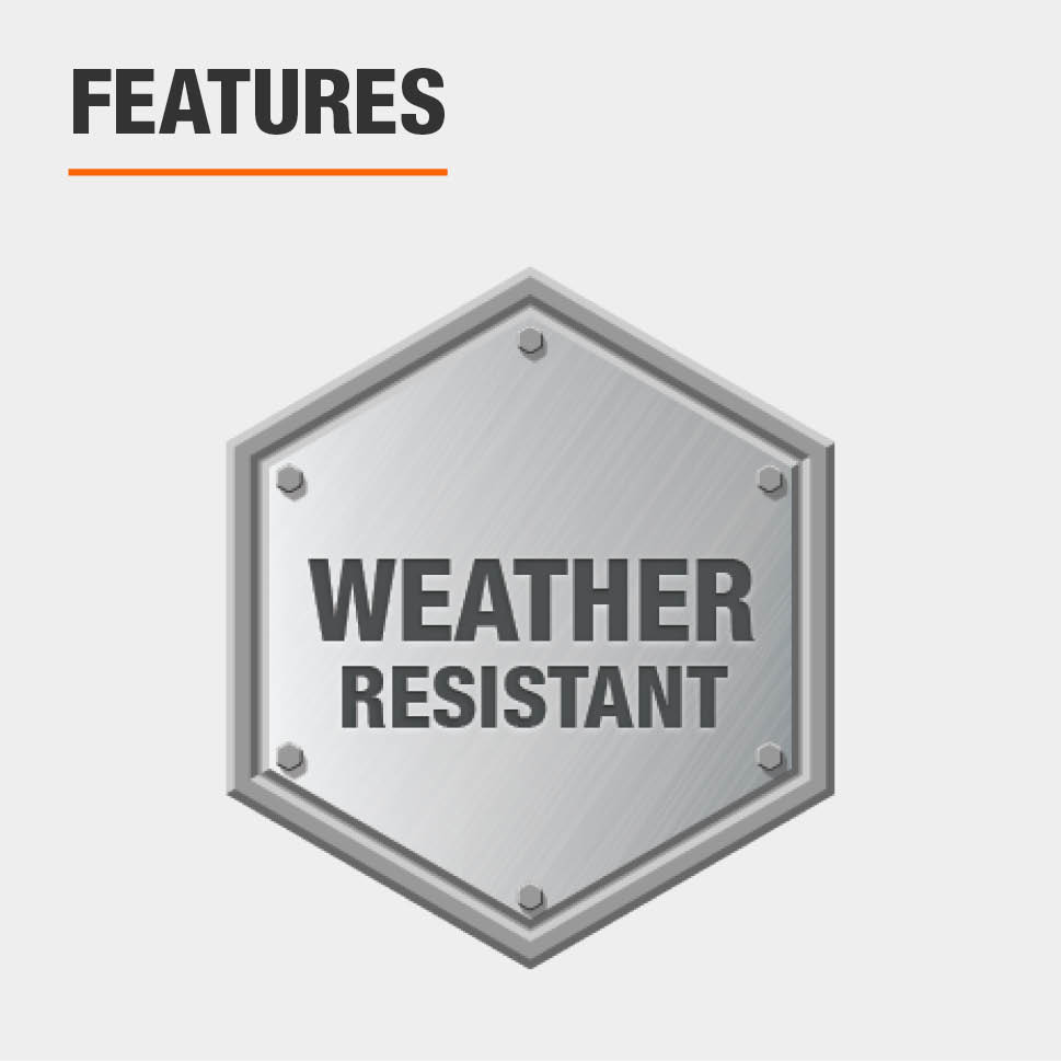 This item is weather resistant