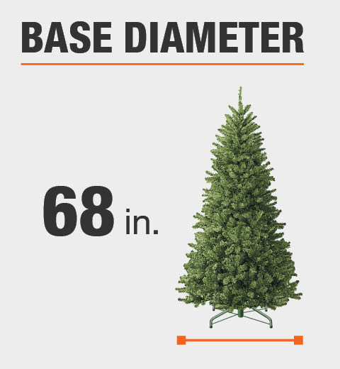 Product Overview - Home Accents Holiday 7.5 Ft. Pre-Lit LED Grand Fir Artificial