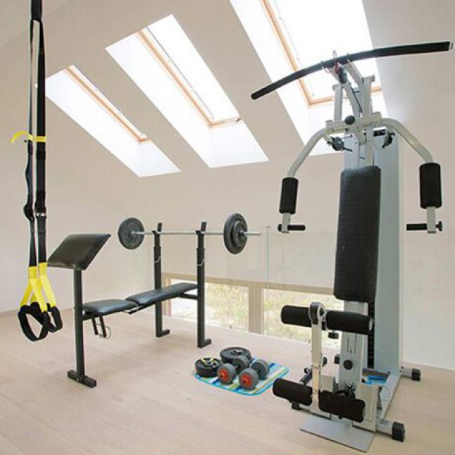 Home Gym Doors