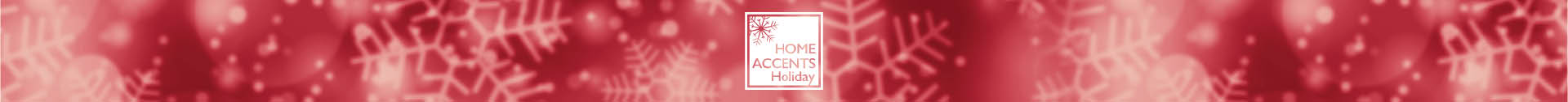 Home Accents Holiday banner