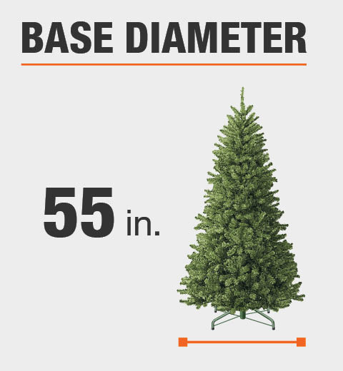 Product Overview - Home Accents Holiday 9 Ft. Pre-Lit LED Wesley Spruce Artificial
