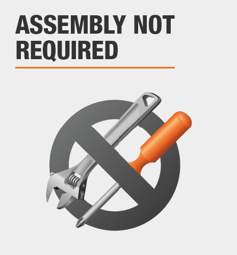 Assembly not required for this item.