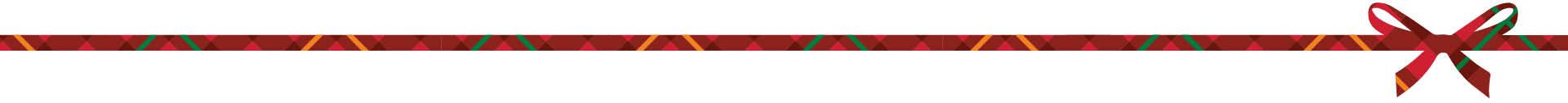 Holiday Ribbon Décor, top