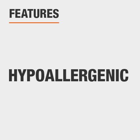 Features Hypoallergenic