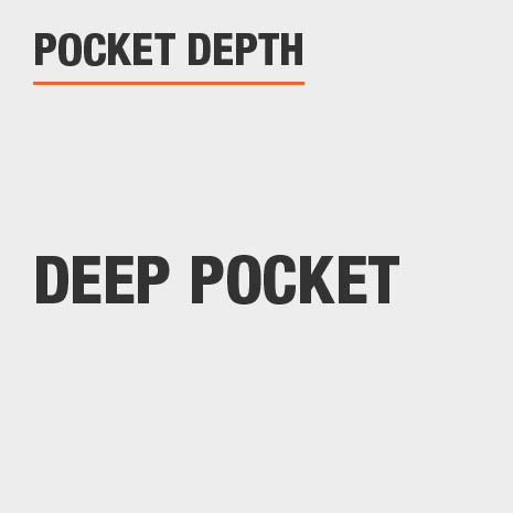Pocket Depth Deep Pocket