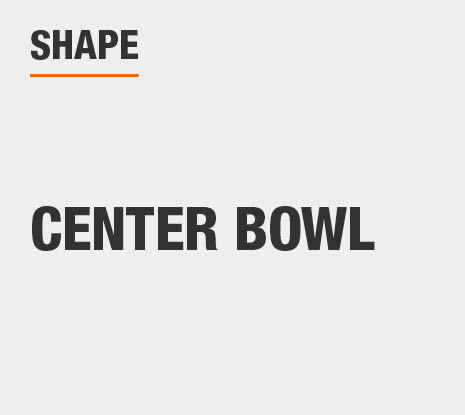 Product Shape: Center Bowl