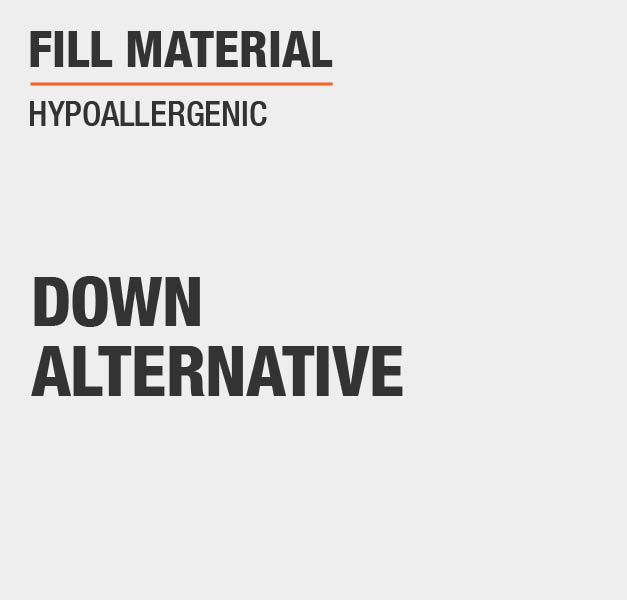 Fill Material Duck Down Hypoallergenic RDS