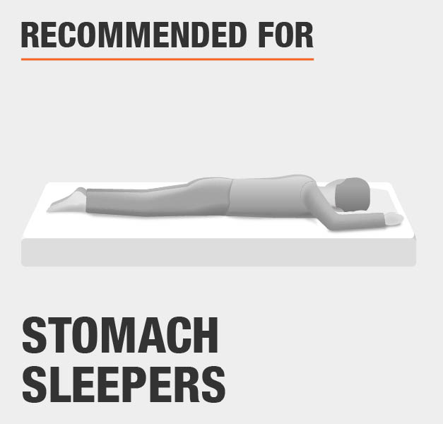 Recommended For Stomach Sleepers
