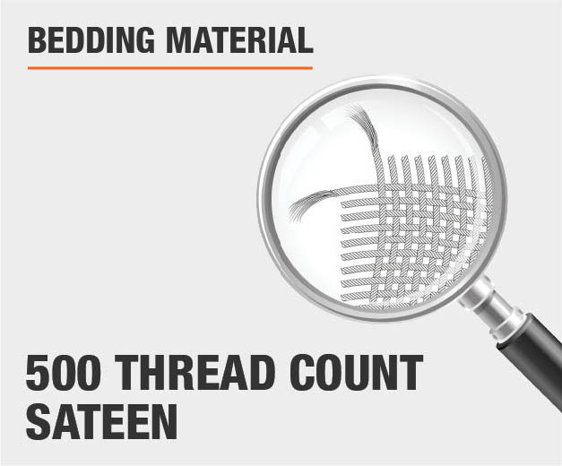 500 Thread Count Sateen