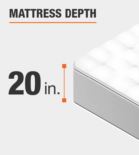 Mattress Depth 20 inches