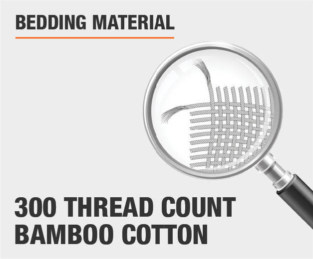 300 Thread Count Bamboo Cotton