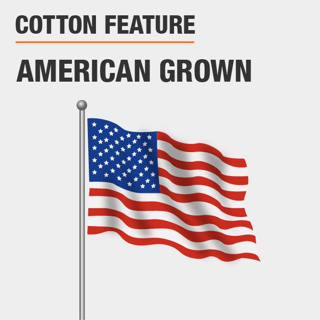 American grown cotton