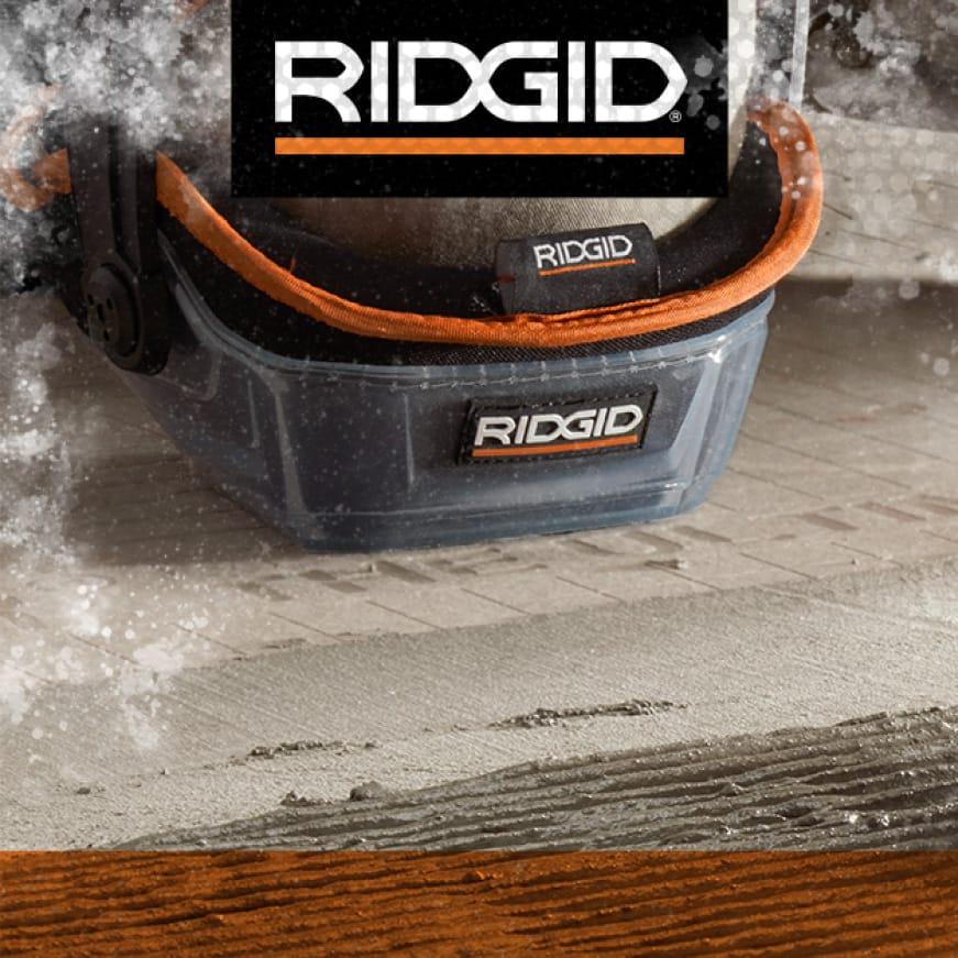 Premium RIDGID tile tools