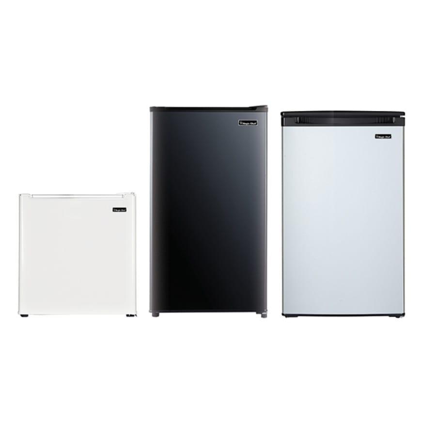 Magic Chef 1 7 Cu Ft Freezer Less Mini Fridge In Black Mcar170be The Home Depot