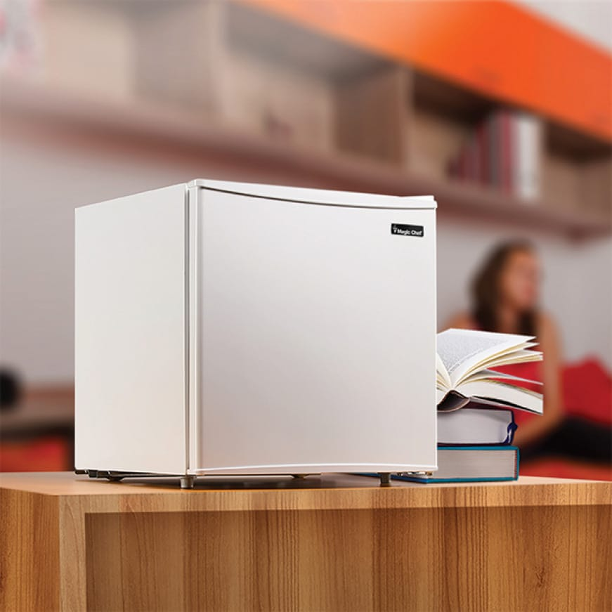 The perfect freestanding fridge for any room including offices