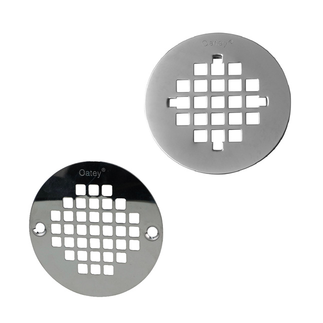 Round snap-tite and screw-tite strainers