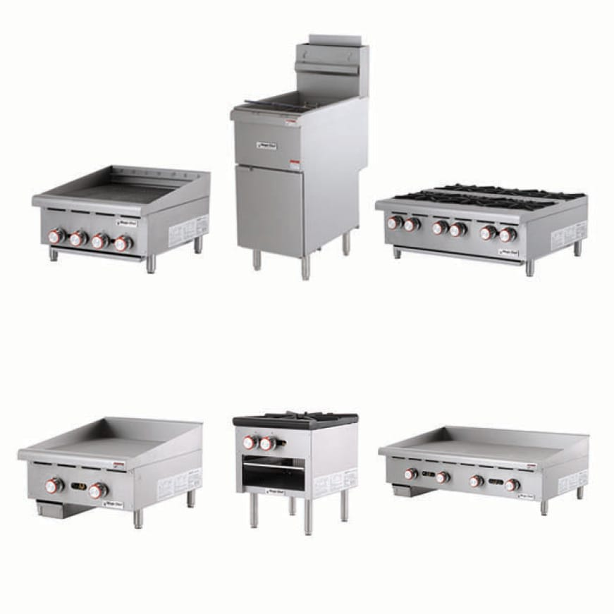 Magic Chef Commercial has a variety cooking appliances