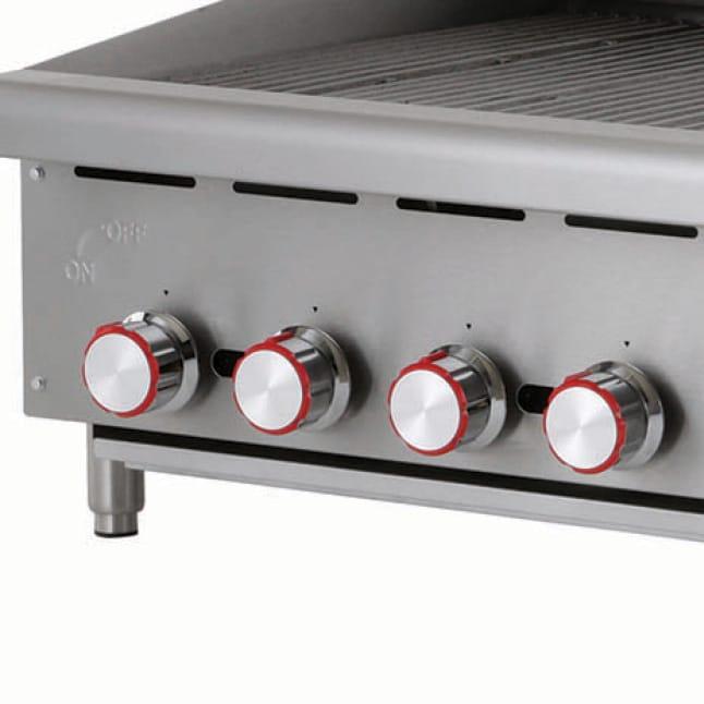 Heavy duty chrome plated comfort knobs