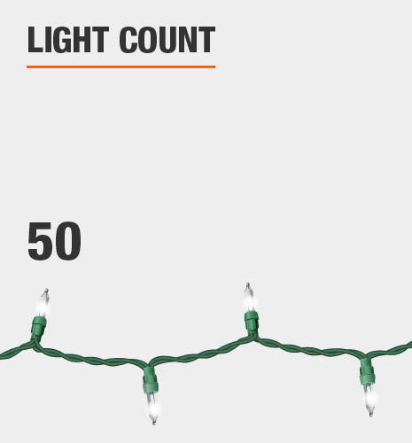 The light count is 50