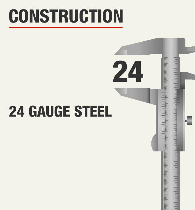 Husky Welded Gauge Steel Garage Cabinets