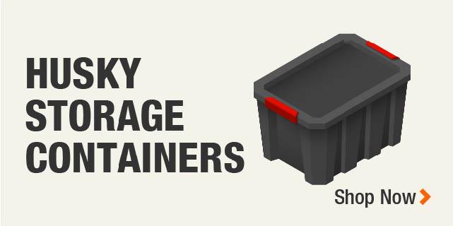 Husky Storage Containers