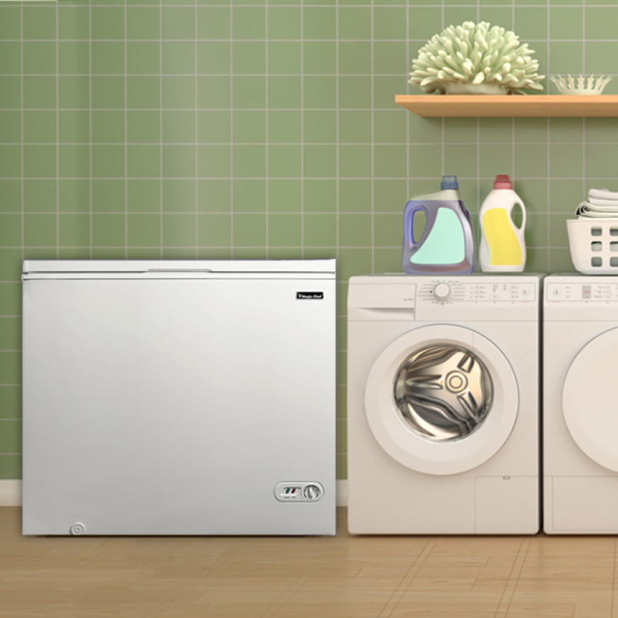 Perfect freezer for any room including laundry rooms