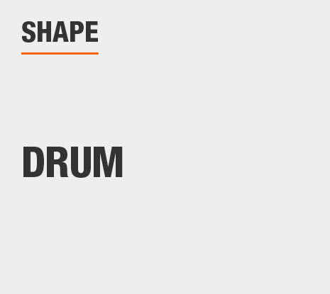 Product Shape: Drum