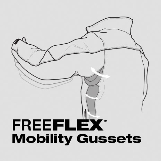 FREEFLEX Mobility Gussets Made to Move