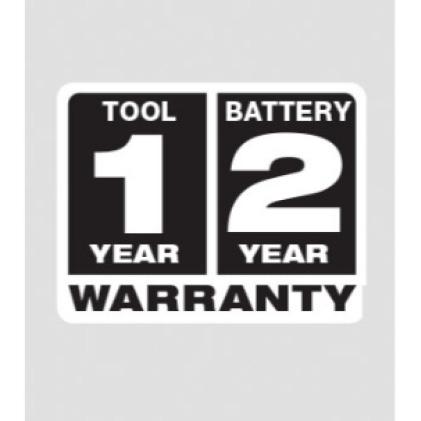 1 Year Jacket   2 Year Battery