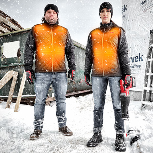 Wind and water resistant with DWR Coating and polyester insulation to fight the elements