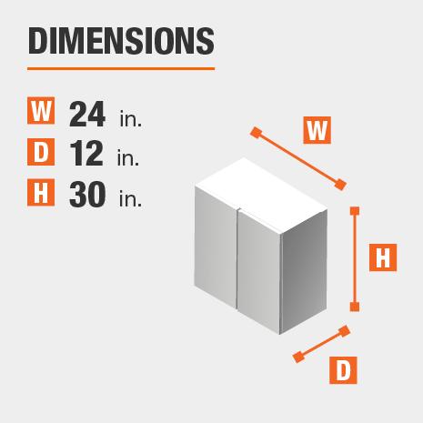 Assembled Width x Height x Depth