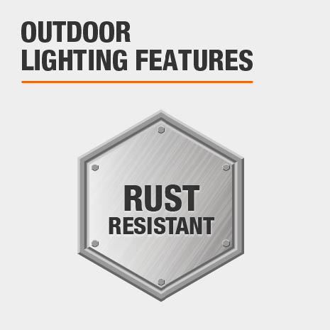 This light is rust-resistant.