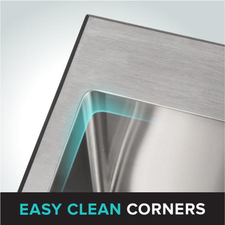 Easy Clean Corners