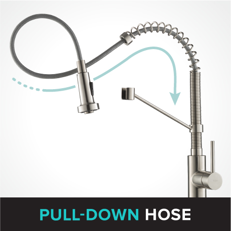 PULL-DOWN hose