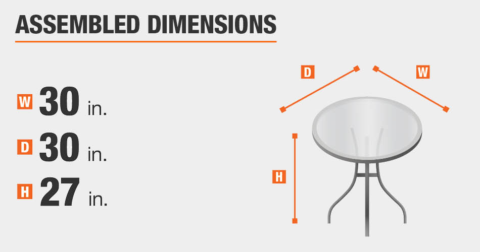 Assembled Dimensions